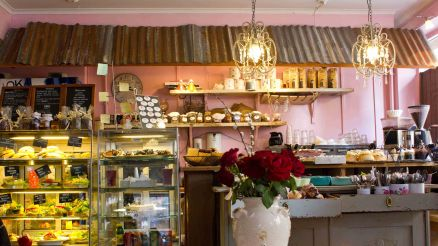 Home cooked goodness in this petite antique cafe