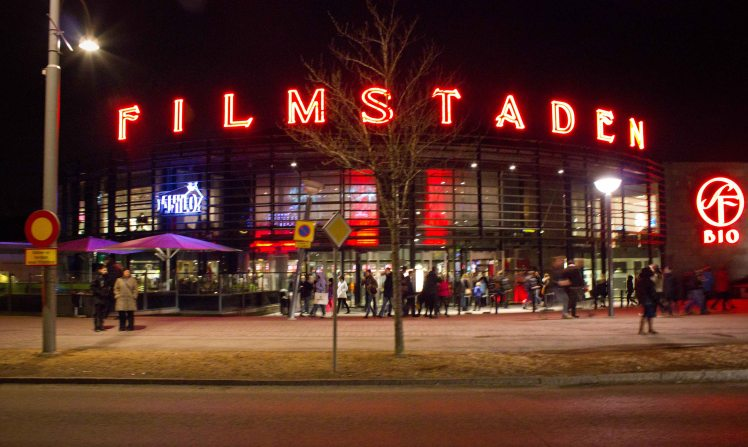 Movie night at the Filmstaden, Göteburg