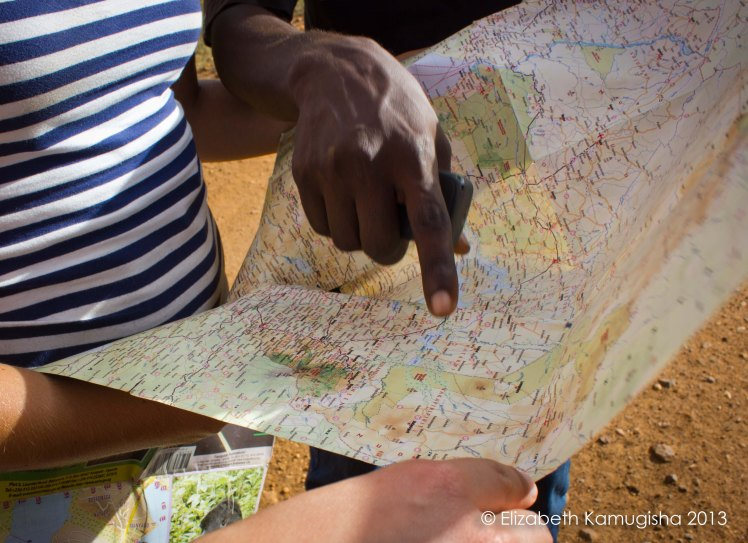 A roadtrip is never complete without getting a little lost along the way! We navigated our way back the old fashioned way; maps!