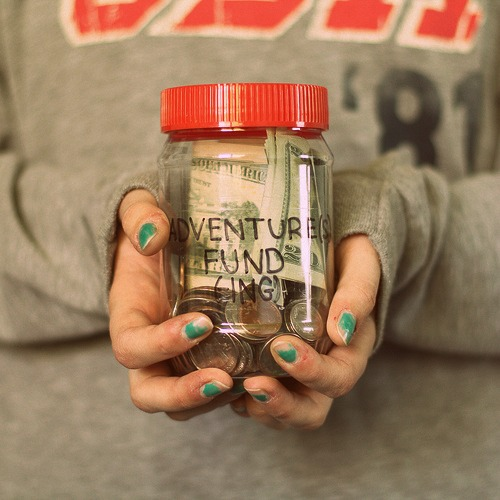 "I need to start myself a ""Festival Fund"" Jar..."